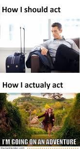 Travel Meme - when you travel meme collection