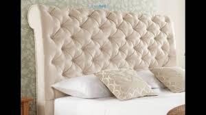 elegance upholstered sleigh bed youtube
