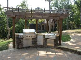 ideas for grill areas elegant home design and backyard patio with