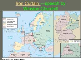 Winston Churchill Iron Curtain Speech Meaning Title The Cold War Begins Ch 17 1 Please Read And Take Notes On