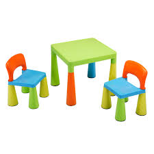 childrens table chair sets children s multi coloured table chairs set