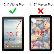 fintie rca 10 viking pro viking ii case vegan leather cover