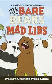 halloween mad libs we bare bears mad libs hannah s campbell 9780451533036 amazon