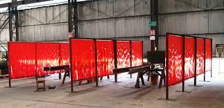 welding grade pvc strip curtains welding screen curtains chennai