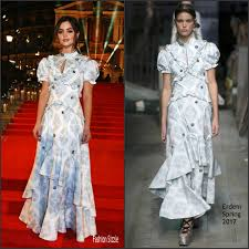 Fashion Sizzlers Archives Fashionsizzle by Jenna Coleman In Erdem At The 2016 Fashion Awards Fashionsizzle