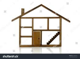 Rooms In A House House Outline With Rooms
