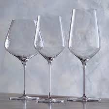 wine glasses zenology wine glasses complete collection set of 6 wine enthusiast