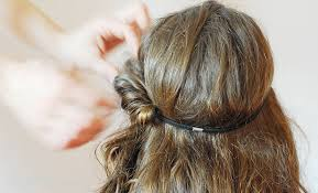 headband roll diy flowers hair accessories inspired by valentino haute couture