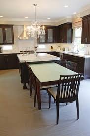 Beautiful Kitchen Island With Table Attached Beautiful - Dining table kitchen island