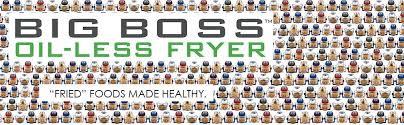 amazon com big boss oil less air fryer 16 quart 1300 watt