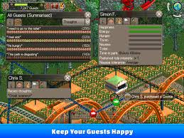 rollercoaster tycoon classic android apps on google play