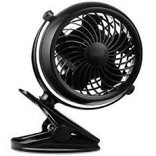 le de bureau à pile clip sur le bureau du ventilateur fonctionnant sur batterie ou usb 4