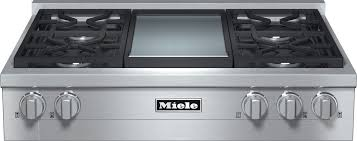 Gas Countertop Range Kitchen Cooktops Miele Gas Cooktops