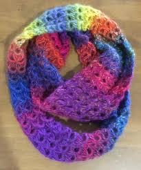 broomstick lace infinity scarf infinity scarf finito laurenetrim