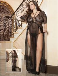 Trendy Plus Size Womens Clothing Wholesale 2017 W1025 R80091 Brand New Trendy Long Lingerie Plus Size