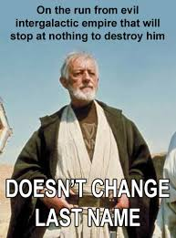 Obi Wan Kenobi Meme - one thing i never understood about obi wan kenobi star star wars