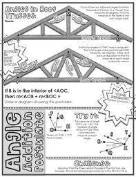 Angle Addition Postulate Worksheet Answers Segment Angle Addition Postulates Doodle Notes By Math Giraffe