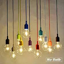 hanging light not hardwired socket pendant light ablevel e26 e27 socket base silicon pendant