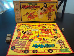 mighty mouse terrytoons mighty mouse game a board game a day