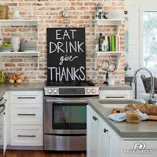 faux kitchen backsplash benefits of using faux brick paneling for your kitchen backsplash