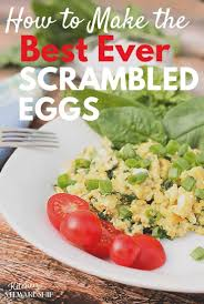 the best scrambled eggs ever