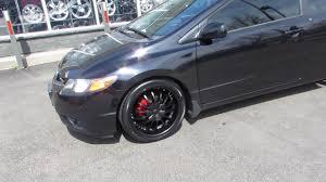 2012 black honda civic 2012 honda civic coupe with 18 inch black rims