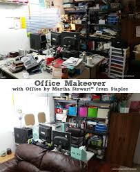 office makeover with office by martha stewart from staples