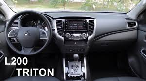 mitsubishi l200 new 2017 mitsubishi l200 triton interior youtube