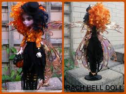 Monster High Doll Halloween by Monster High Custom Repaint Halloween Fairy Mh By Rach Hells