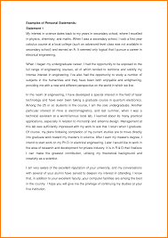 Example Essay For Scholarship Application Sample Of Personal Statement For Scholarship Application