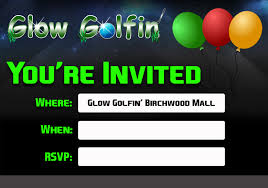 glow invitations archives party ideas hq