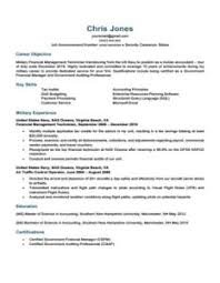 Military To Civilian Resume Template Resume Templete 7 Classic Resume Template Uxhandy Com