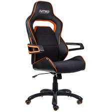 e220 evo gaming chair u2013 black orange nitro concepts