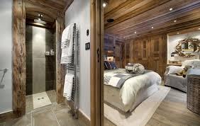 chambre chalet luxe architecture chalet le petit chateau chambre2 chalet de