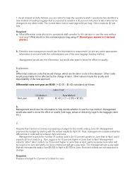 Delta Airlines Baggage Fees Homework Answers Cost Of Goods Sold Inventory