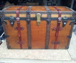 restoring a vintage steamer trunk 8 steps with pictures