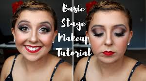 theatrical makeup school basic stage makeup tutorial