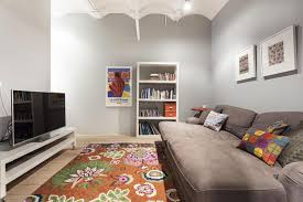 Apartments Simple Living Room Design Sofabed Decor Apartment - Simple living room design