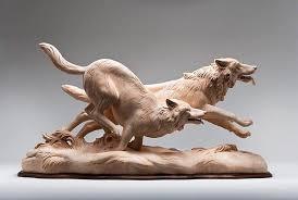realistic wooden animal sculptures by giuseppe rumerio designwrld