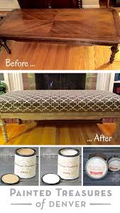Diy Padded Storage Bench Best 25 Padded Bench Ideas On Pinterest Fabric Coffee Table