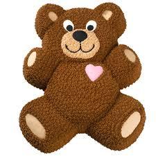 teddy bear cake wilton