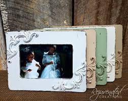 Home Decor Photo Frames Distressed Frames Etsy