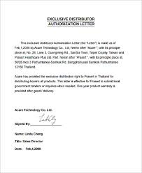 Financial Warranty Letter authorization letter sle 9 exles in word pdf