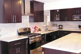 Solid Wood Shaker Kitchen Cabinets by Chocolate Shaker Ready To Assemble Rta Kitchen Cabinets Best