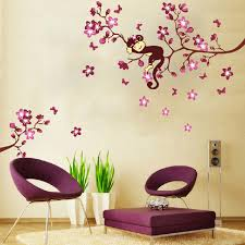 aliexpress com buy new monkey u0026pink peach flower blossom tree