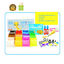free gift high quality air dry clay set kids educational craft 20g