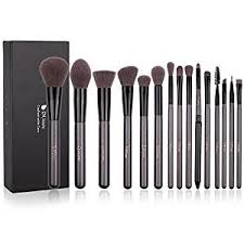 Make Up Ql ducare makeup brushes set 15pcs synthetic foundation