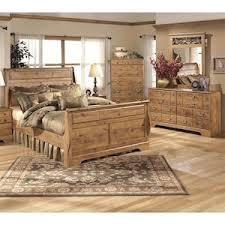 Bittersweet Piece King Bedroom Set In Light Brown Nebraska - Furniture mart bedroom sets