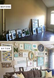 how to create a massive gallery wall filled with diy projects and