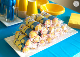minion gift bags minion birthday party with free printables